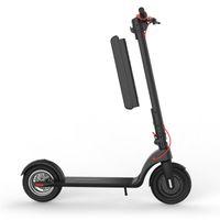 大きな車輪3500ワット電気スケートボード、折りたたみ式の大人のスケートボード、耐久のバッテリー10 Ah、長い電動カエルスクーター