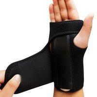 Wrist Brace Splint Спраинс артрит Группа бинты ортопедических руки Brace запястье Поддержка Finger Шинных Кистевая рука группа Suppo