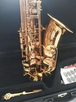 La migliore qualità di Golden Alto sassofono strumento musicale YAS875EX Giappone Marca Alto sassofono E-Flat con il boccaglio professionale