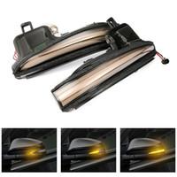 LED dynamique CLIGNOTANTS la lumière de la lampe à miroir pour Toyota Alphard Vellfire AH30