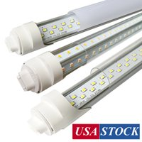 R17D 8ft LED لمبة، 8ft 45W V شكل 72W 144W R17D أضواء متجر LED، استبدال أضواء متجر مصباح الفلورسنت 150W، 8ft، الطاقة المزدوجة