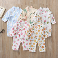 Newborn Yarn Robe Clothing Jumpsuit Infants Cartoon Butterfl...