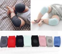Genou bébé Tapis Crawling sécurité Cartoon coton Protecteur enfants genouillères bébé Rotules Jambières Crawling Coussin coude