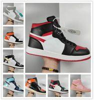 2020 Классические мужские кроссовки мода 1s высокий верхний og кожаная повседневная открытая туфли на открытом воздухе унисекс Zapatillas Skateboard обувь 36-44