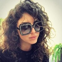 2020 Fashion Women Square Sunglasses Brand Designer Luxury rhinestone Sun Glasses High Quality Shades Oculos