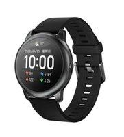 Cassa rotonda originale Haylou solare LS05 intelligente orologio del metallo di sport Heart Rate Monitor sonno IP68 impermeabile di 30 giorni Batteria iOS Android 10pcs DHL