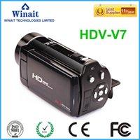 """2020 أحدث كاميرا فيديو السيارات 3.0 """"24mp تقريب رقمي 16x كاميرا الصورة USB الانتاج / TV فيديو كاميرا الفيديو الرقمية مع جهاز التحكم عن بعد"""