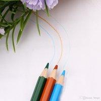 도매 72 PC를 / 세트 학교 연필로 접는 블랙 펜 가방 학생 믹스 색상 연필 파우치 그리기 미술 연필 DH1198 T03