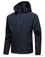 Hot classico marchio antivento e impermeabile di alta qualità Casual Giacche da uomo in pile in pile in pile giù neve soft shell cappotti nero grigio blu