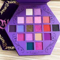 Five Star Blood Lust Eye Shadow Palette trucco 18 colori di luccichio e Matte Eyeshadow Artistry Eyeshadow Palette Puple Cosmetic DHL libera