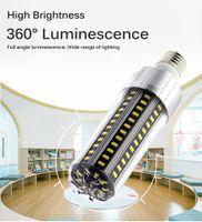 LED Corn Bulbs Super Bright 25W 50W 110V 220V 5730 LED Light Bulb in Fan No Flicker Lighting Bulbs