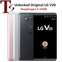 Unlocked LG V20 H910 H918 Mobiltelefone 4 GB RAM 64GB ROM Android 5,7 Zoll Snutdragon 820 16MP + 8MP Kamera 4G LTE Mobiltelefon
