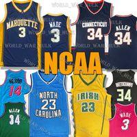 NCAA RAY GIANNIS 34 ATTETOKOUNMPO Allen Jersey Dwyane 3 Wade Tyler 14 Herro College Jimmy 22 Butler Lebron 23 James Basketball Jerseys