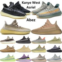 Adidas boost 350 v2 New Asriel Israfil Oreo Cinder Desert Sage Marsh Lin Zyon Terre lin ouest kanye réfléchissant chaussures de course hommes baskets