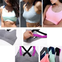 Sexy women' s Vest Solid Color Short Fitness Quick Dryin...
