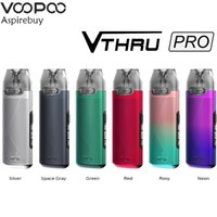 VOOPOO V.THRU Pro Pod Vape kit 25W 900mAh batería V TRAVÉS Pro 3 ml Cartucho GENE chip electrónico del cigarrillo vaporizador Auténtico