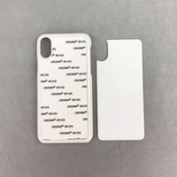 iPhone için Alüminyum Uçlar TPU PC telefon Case Blank 11 Pro Max SE 7 8 artı maksimum 2D süblimasyon xr xs X