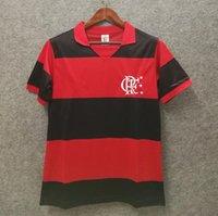1982 Flamenco Retro Soccer Jersey 1990 Casa Cuv Vintage Camisas Futebol Clássico Guerrero Diego Camisa de Futebol