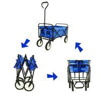 US-Lager, DHL Versand Blau Klappwagen Garten Einkaufen Strand Warenkorb Collapsible Spielzeug Sportwagen Rot Tragbare Reise Lagerwagen W22701512