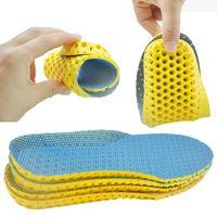 Stretch дышащего Дезодорант Запуск Подушки Стельки для ног Человека Женщины Стельки для обуви Sole ортопедического Pad Memory Foam