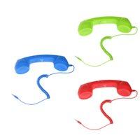 Jack Mic Retro POP 3pack Téléphone combiné téléphonique pour téléphone portable Universel Vert + Bleu + Rouge