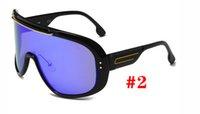 الصيف شاطئ رجل الأزياء sprot أسود نظارات شمسية أناقة ركوب الدراجات نظارات المرأة الكلاسيكية السفر النظارات الشمسية النظارات conjoinedlens DRO [شحن