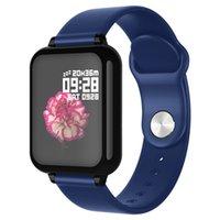 B57 Smart Watches Impermeabile Sport Uomini Donne Smartwatch Cardiache Morsore Blood Pressure PRESSIONE PILITENZA Tracker PK D20 Smart
