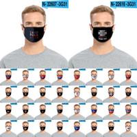 Маски Мода Trump лица Для взрослых детей Keep America Great моющийся многоразовый Рот маска президент США Выборы Trump 2020 Маска CYZ2661