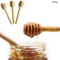 صديقة للبيئة أدوات خشبية العسل النمام 8CM 15cm والقهوة عصير خلط تحريك عصا العسل لونغ الشاي عصا تحريك الحليب بار العسل الغطاسون TQQ BH1758