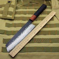 """10-Zoll """"handgemachte Kochmesser VG10 Damaskus Stahl geschmiedet Küchenmesser professionelles Küchenmesser Kochtrennwerkzeug geometrisch"""