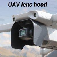 La capilla de lente durable, ligero lente de la cámara cubierta de la cortina de Sun del cardán Accesorios Protector de pantalla para DJI Mavic Pro 2