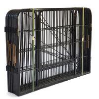 De haute qualité à bas prix en gros Best Large Puppy Dog Run Métal intérieur / barrière de fer de chien Playpen W24101525