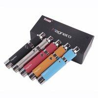 Autêntico Yocan Magneto Kit Vaporizador Erva Seco Kit de Vaporizador de cera 1100mAh Bateria 510 Tópico Forno De Cerâmica Vape Pen 100% Original