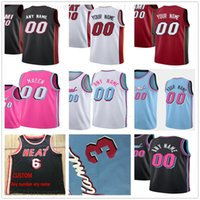 Custom Printed Jerseys Top Quality Man New Blue City Red Pin...