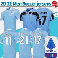 2021 Lazio soccer jersey home third #17 IMMOBILE 20 21 Men #...
