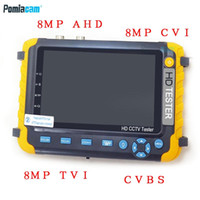 IV8W CCTV tester monitor for 8MP AHD TVI CVI CVBS camera tes...