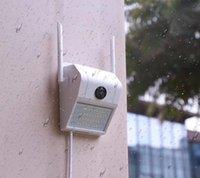 1080P Lámpara de pared a prueba de agua Cámara IP IR Humanbody Inducción Videcam Detección de movimiento Lámpara de inducción inteligente Cámara al aire libre V380