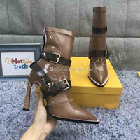 High Heel Stiefel 2019 Herbst Stiefel Damen Stiefel für Winter Fashion Outdoor Booties Best Design
