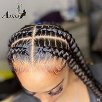 13x6 HD кружева передние человеческие волосы парик прямой невидимый прозрачный полный кружевные парики атина неопределенные лобные реми 4x4 замыкание 150%