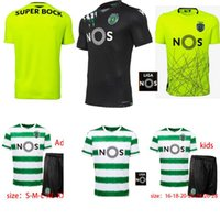 20 21 Sporting Clube de Sporting CP Lissabon Futebol Trikots Phellype 2020 2021 Fernandes Futebol Trikot Lisboa Dost Soccer Jersey