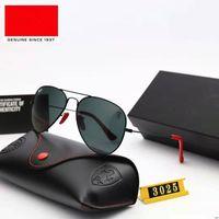 VR أعلى الإصدار النظارات الشمسية الإطار المعدني الاستقطاب عدسة UV400 الرياضة نظارات الشمس الأزياء الاتجاه النظارات النظارات مع صندوق