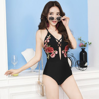 g4klS VfaHs gathered wo sexy swimsuit high waist bikini mesh...