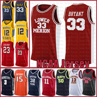 Bryant Basketball Jersey LeBron 23 James Leonard Dwyane 3 Wade Irving NCAA Stephen 30 Université Curry Anferrnee 25 Hardaway Evevin Johnson