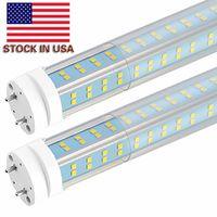 Tubes lumineuses à LED de 25 pcs-T8, ampoules LED de 4ft 60W lumière, en V bulles double latérales en V, ampoules de remplacement à LED T10 T12 pour appareils fluorescents à 4 pieds