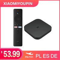 Originale versione globale Xiaomi Mi TV Box S Android 9.0 2GB di RAM 8GB di ROM di Smart TV Set Top Box 4K QuadCore HDMI WiFi Mali 450 1000Mbp Player