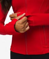 50 Colori l donne Outwear il cappotto del progettista del rivestimento di Lady Sport Yoga abbigliamento professionale Yoga tessuto Jogging l Giacca u