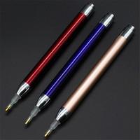 LED الماس لوحة حفر القلم التطريز نقطة الحفر القلم 5D DIY أحجار الراين صور الإضاءة الماس أقلام JK2008KD