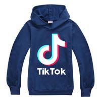 Tik Tok Hoodies Kids Baby Boys Girls Clother 코튼 후드가 까마귀 스웨터 저렴한 할인 Tiktok Teen Kids 캐주얼 스포츠웨어