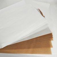 Papel de aceite antiadherente aceite de papel Dab Rig herramienta Cera Hornear Mat Cera tarro de cristal en seco de la hierba del agua Bong Vape de papel para hornear Aceite