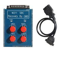 W211 SBC إعادة تعيين أداة إصلاح SBC أداة لمرسيدس بنز OBD2 أداة Reocvery C249F SBC ABS W211 R230 الاسترداد من قبل OBD مباشرة